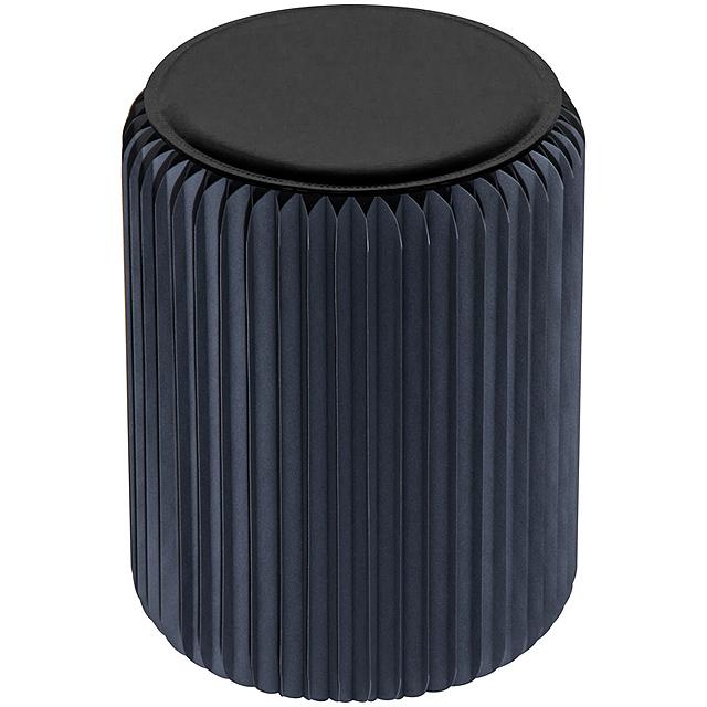 Papírová židle - černá