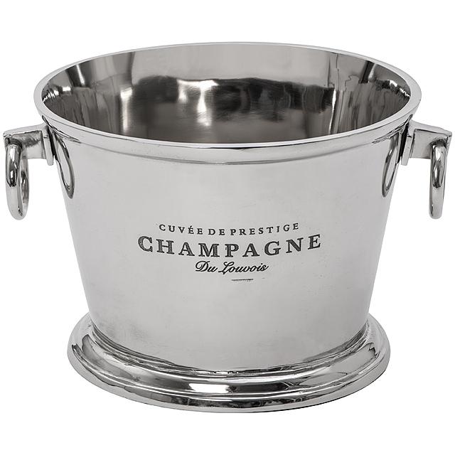 Chladicí nádoba na šampaňské, malá - šedá