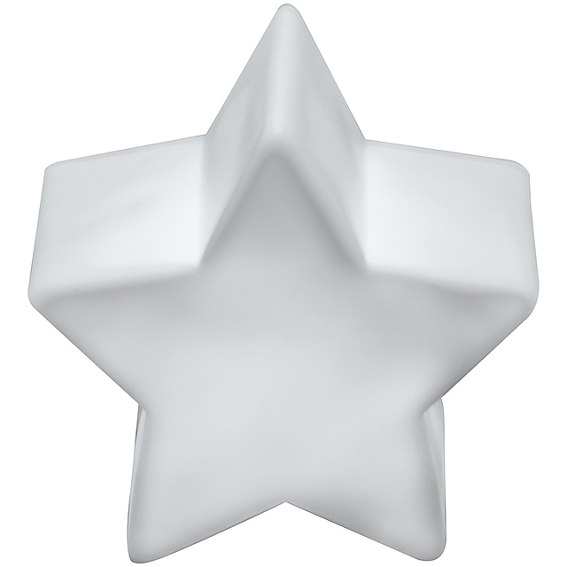 Night light in the shape of a star - white
