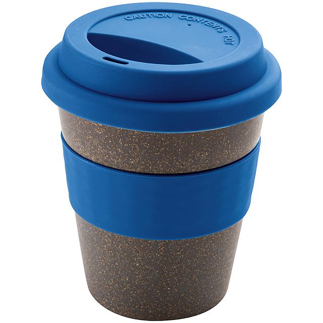 Bambusový pohár - modrá