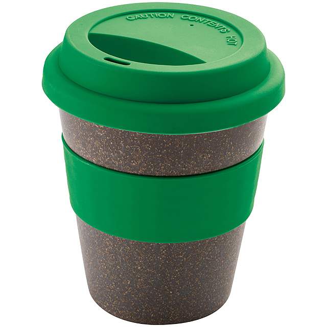Bambusový pohár - zelená