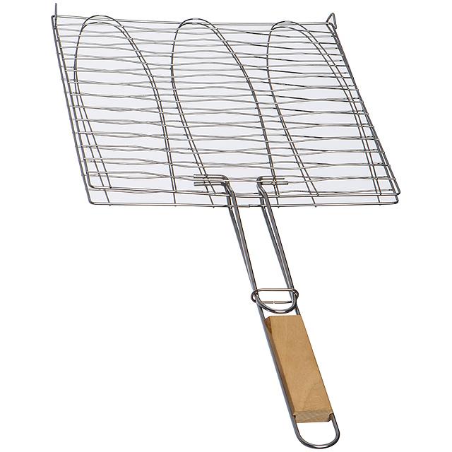 Grilovacia mriežka - hnedá