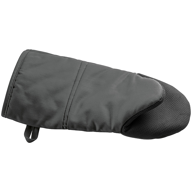 Grilovacia rukavica - čierna