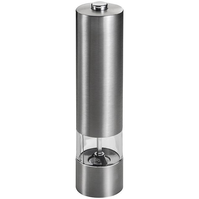 Eletrický mlýnek na koření - šedá