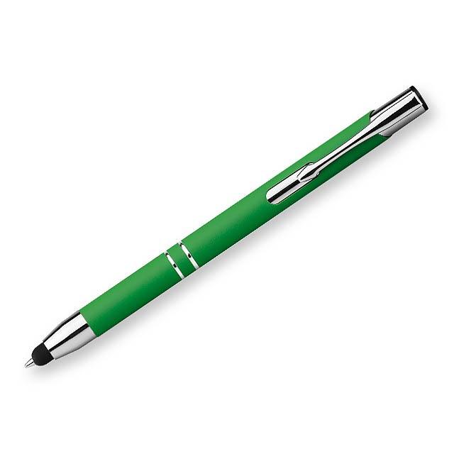 OLEG TOUCH SOFT kovové kuličkové pero, funkce
