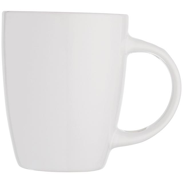 Keramická šálek - bílá