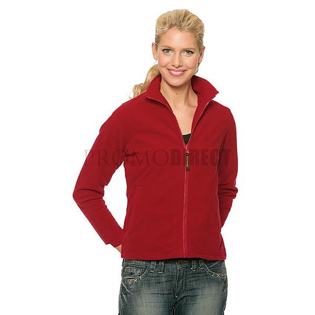 Result - dámská fleece mikina zip - černá
