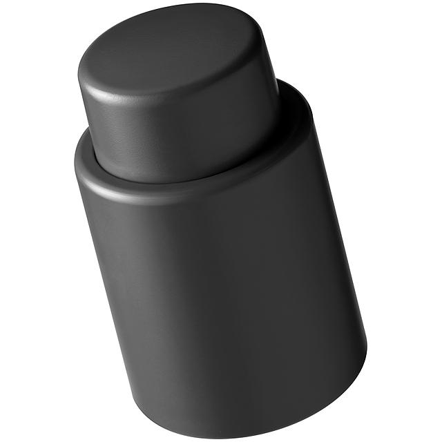 Vakuová vinná zátka - černá