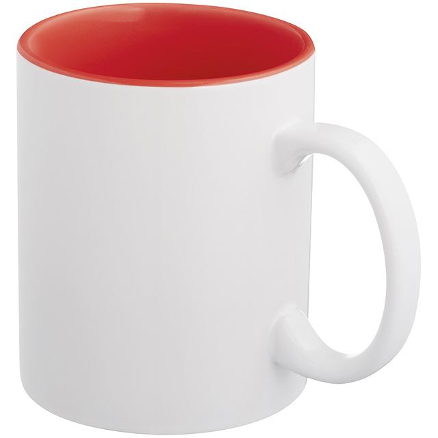 Sublimační hrnek - červená