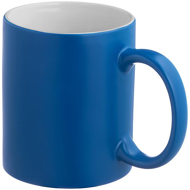 Barvu měnící hrnek - modrá