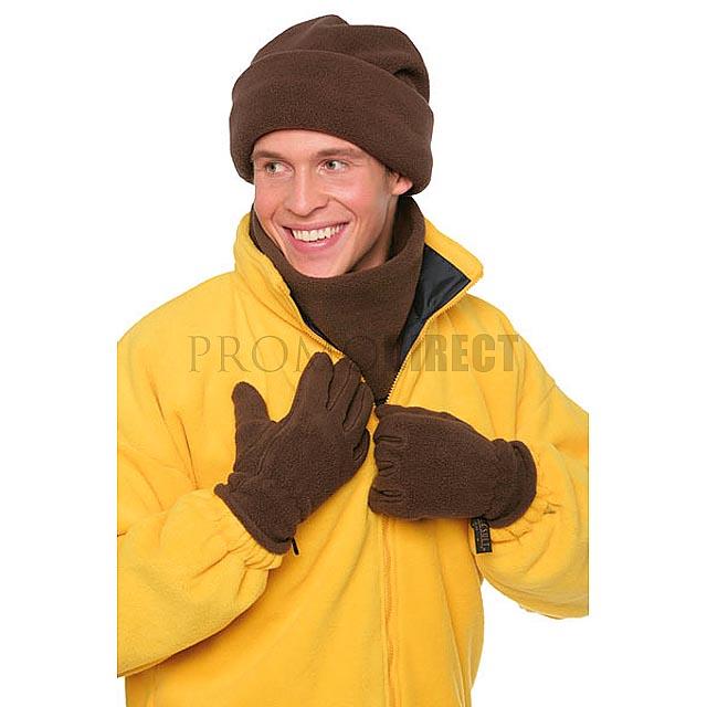 Result - sada rukavice, čepice a šála - černá
