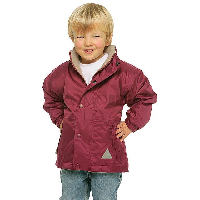 Result - dětská nepromokavá bunda - černá