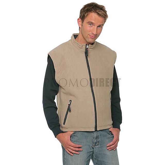 Result - pánská fleece vesta - šedá b493ff041f