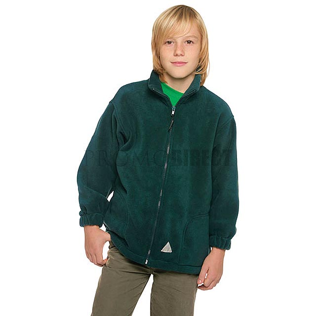 Result - dětská fleece bunda - černá