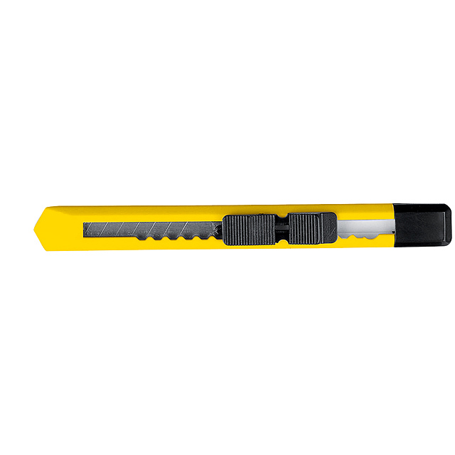 Cutter with removable blade - yellow