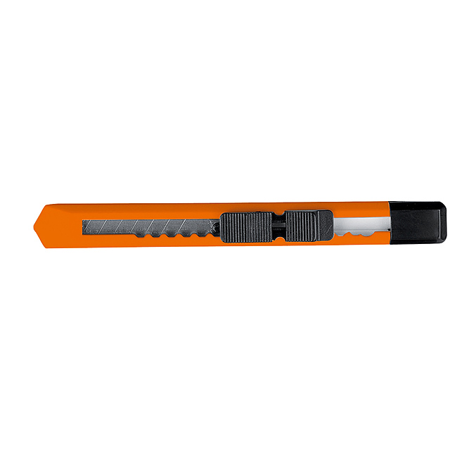 Cutter with removable blade - orange