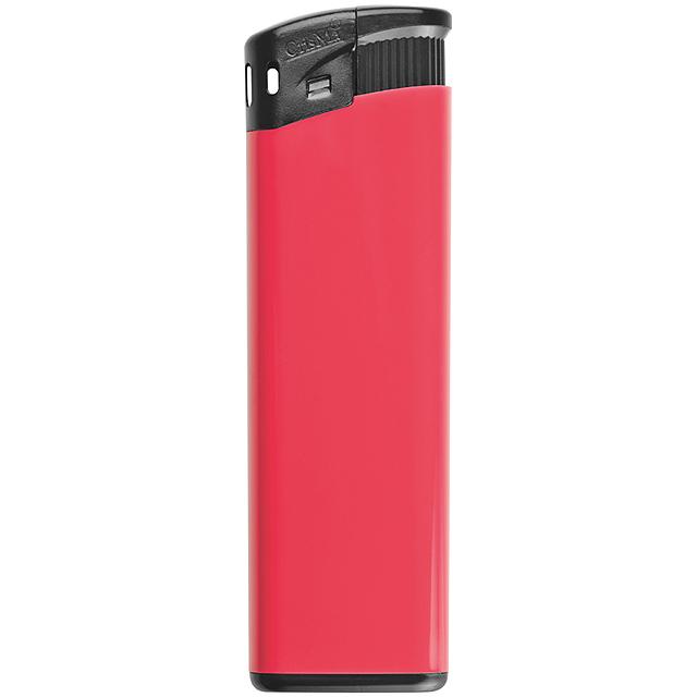 Elektrický zapalovač - červená