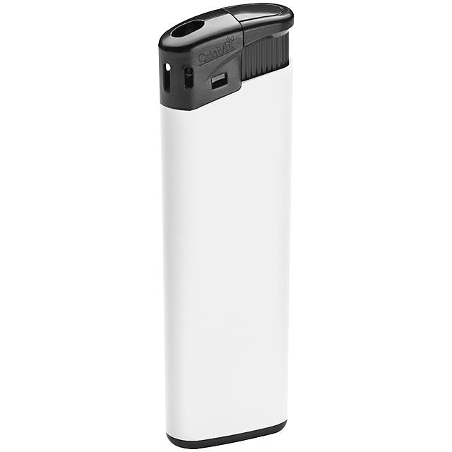 Elektrický zapalovač - bílá