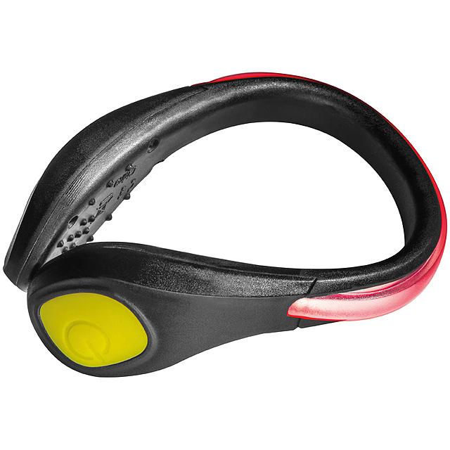 Jogging light for shoes - black