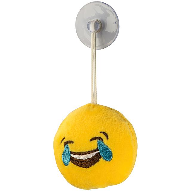Emoji přívěsek - žlutá