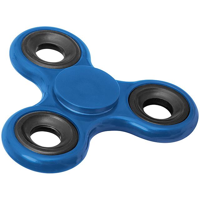 Fidget spinner - modrá