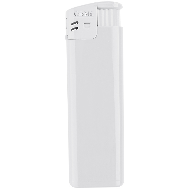 Elektronik-Feuerzeug, nachfüllbar - Weiß