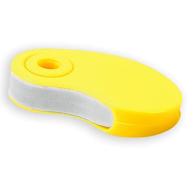 SIZA guma s plastovým krytem, Žlutá - žlutá