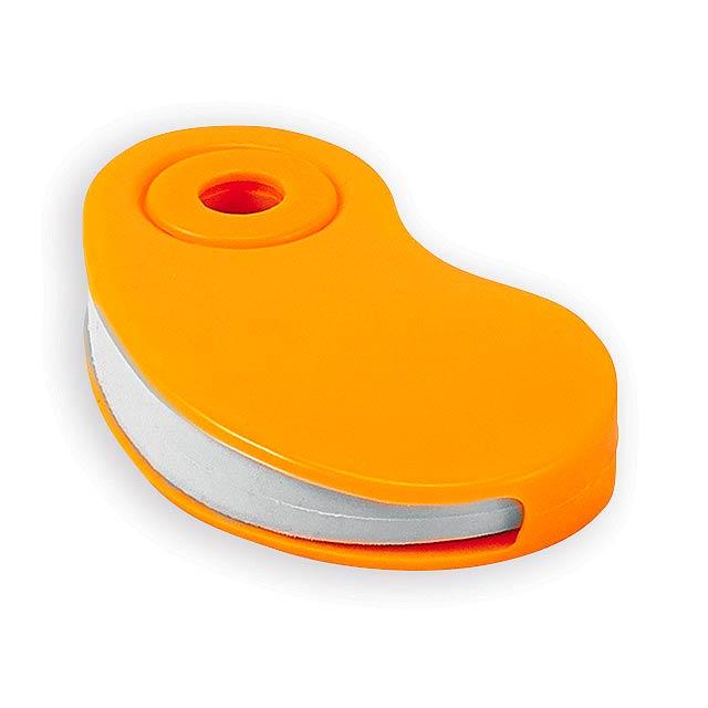 SIZA guma s plastovým krytem, Oranžová - oranžová