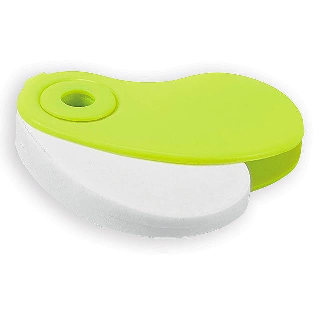 SIZA guma s plastovým krytem, Světle zelená - zelená