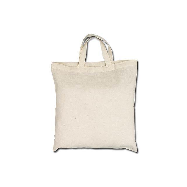 ALENA II - bavlněná nákupní taška, 100 g/m2 - béžová