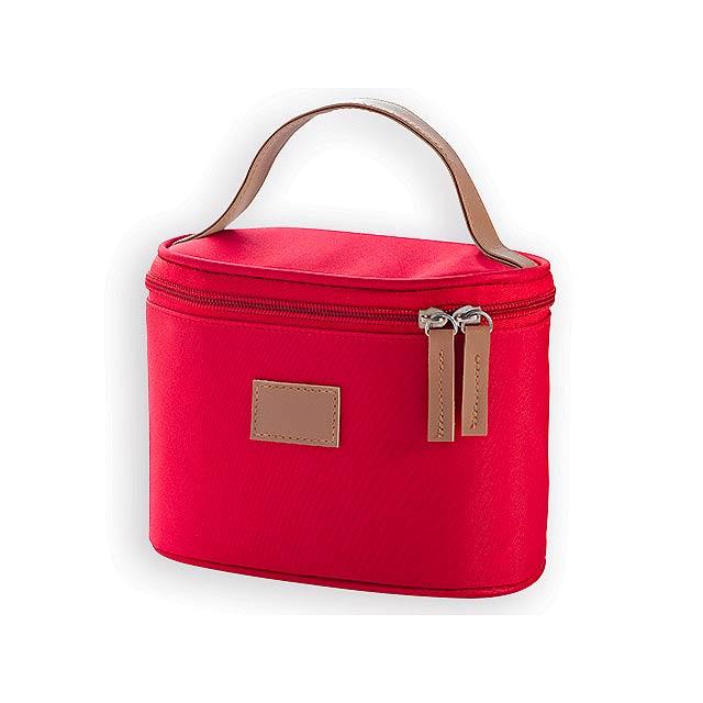 MEDEA kosmetická taška, Červená - červená