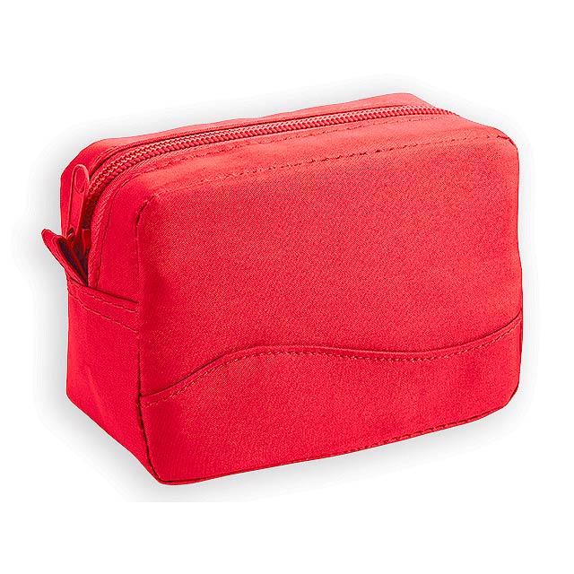 FLORIN kosmetická taška, Červená - červená