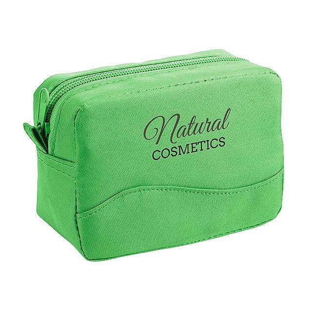 FLORIN kosmetická taška, Světle zelená - zelená