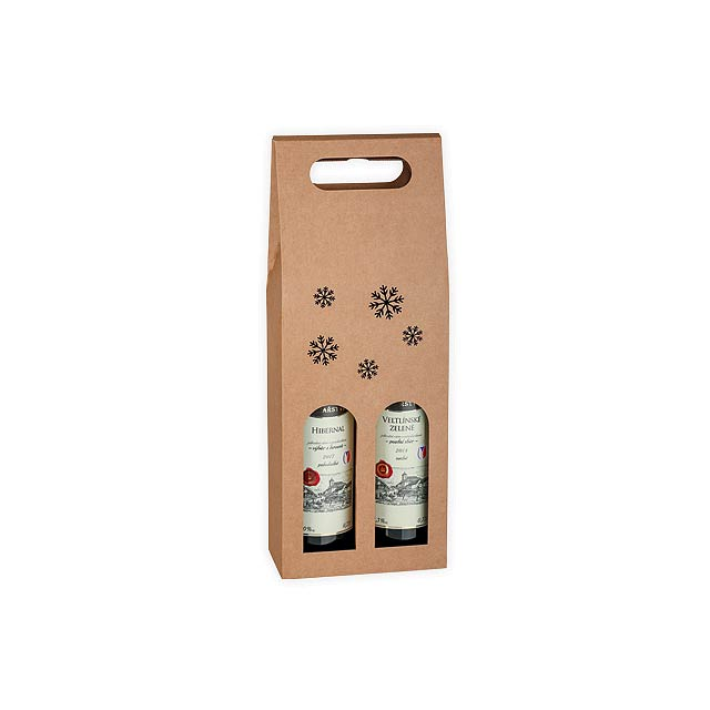 WINE BOX DUO - Beige