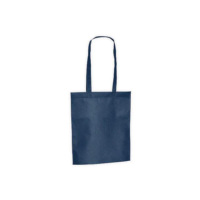 CANARY nákupní taška z netkané textilie, 80 g/m2, Modrá - modrá