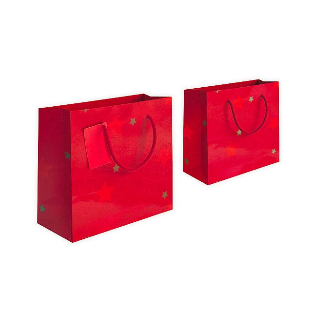 GLOSSY BAG II - Bag - red