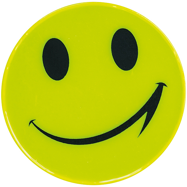 Smiler sticker - yellow