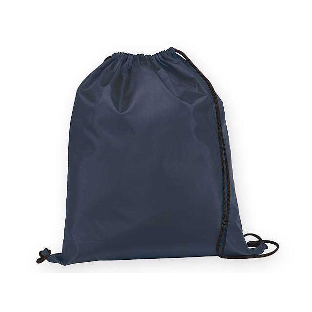 BEXINGTON polyesterový stahovací batoh, 210D, Modrá - modrá