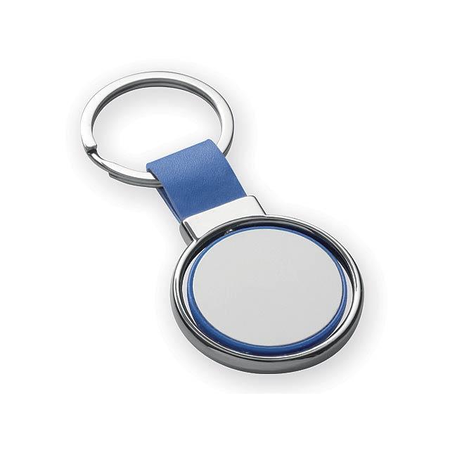 SLIGO kovový přívěsek, Modrá - modrá