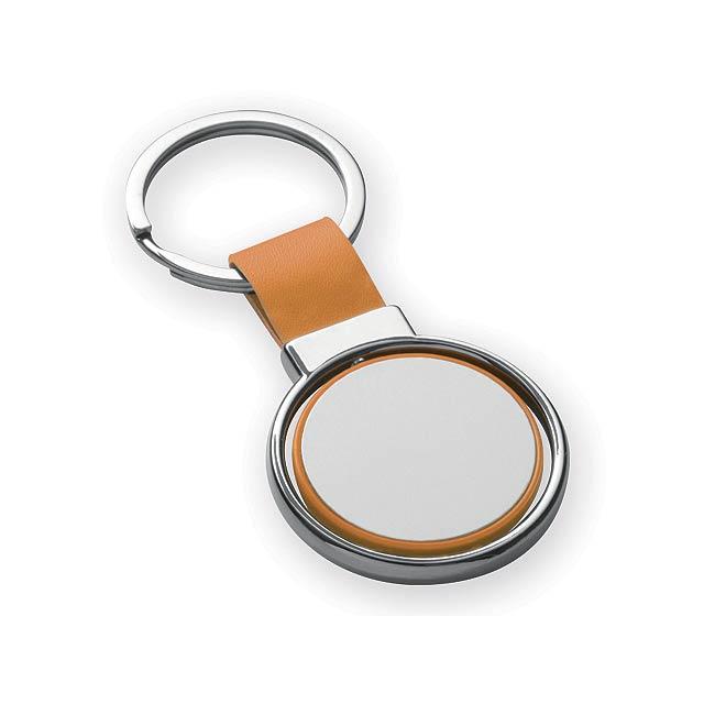SLIGO kovový přívěsek, Oranžová - oranžová