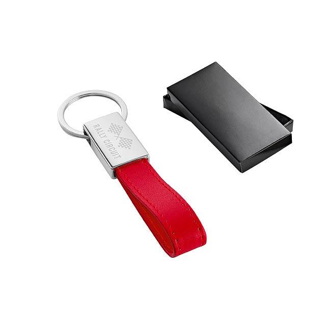 WATOH klíčenka, Červená - multicolor