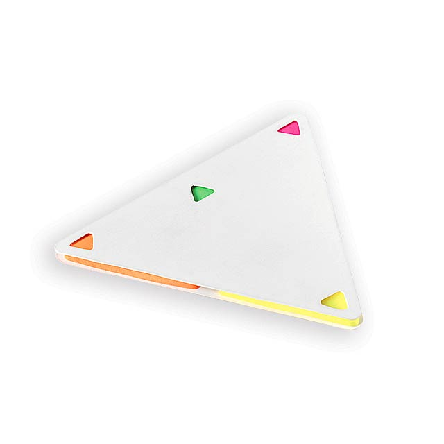 TRIANGULOS - Sticky notes set - white