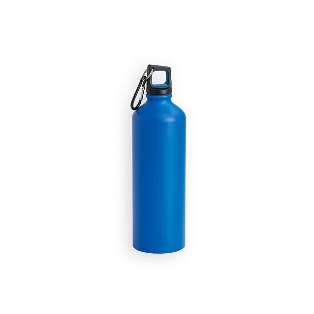 SPORTY hliníková sportovní láhev, 800 ml, Modrá - modrá