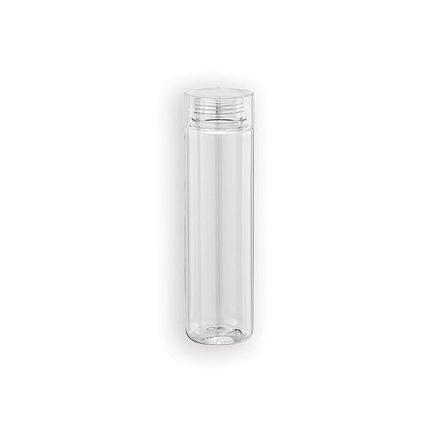 BARTOLO plastová sportovní láhev, 790 ml, Transparentní - transparentní