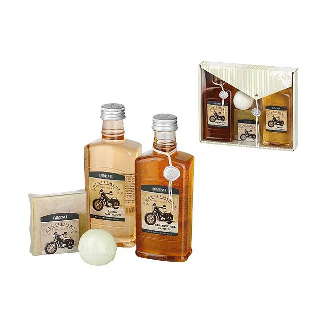 GENTLE BOX sada pro muže-sprchový gel,šampon, mýdlo, Vícebarevná - multicolor