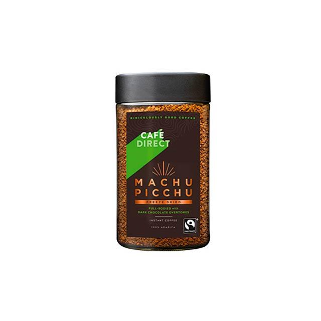 MACHU PICCHU INSTANT fairtrade instantní káva z Peru, 100% arabika, 100 g, Vícebarevná - multicolor