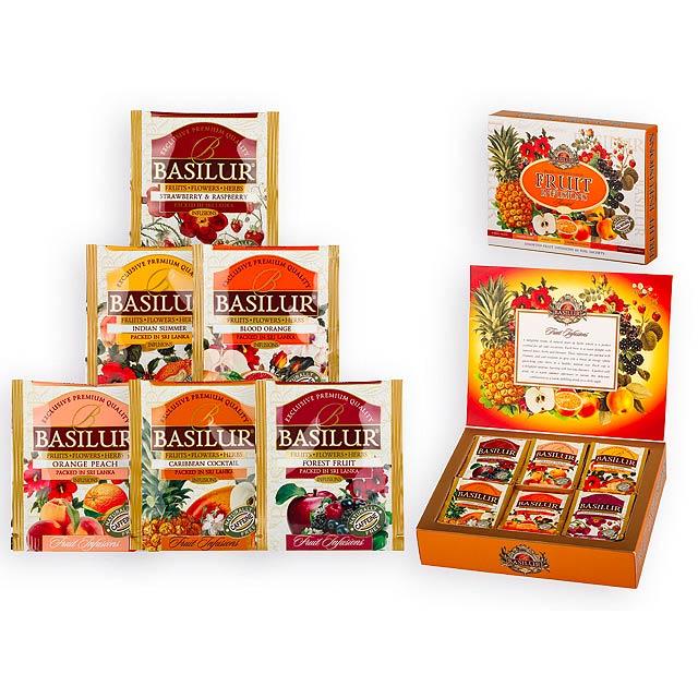 FRUIT INFUSION směs ovocných čajů, 60 sáčků, 180g, Vícebarevná - multicolor