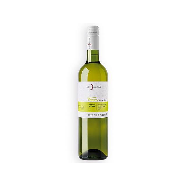 VELTLÍNSKÉ ZELENÉ FRESH kabinetní víno, suché, 750 ml, VÍNO HRUŠKA, Vícebarevná - multicolor