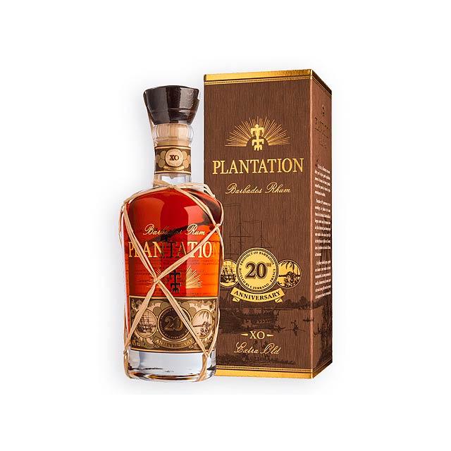 PLANTATION PLANTATION rum z Barbadosu, dárkový box, obsah alk. 40 %, 700 ml, Vícebarevná - multicolor