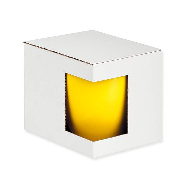 GB PANTHONY - Dárková papírová krabička.             - bílá